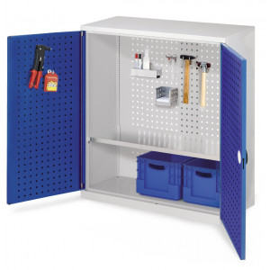 ®RasterPlan gereedschapkast met perfodeuren, model 2