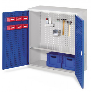 ®RasterPlan gereedschapkast met sleuvendeuren, model 2
