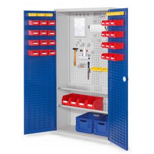 ®RasterPlan gereedschapkast met sleuvendeuren, model 5
