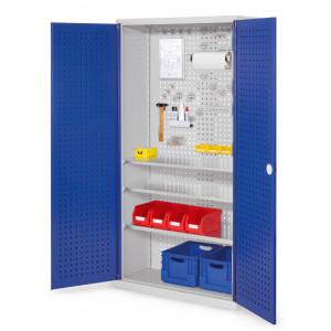 ®RasterPlan gereedschapkast met perfodeuren, model 6