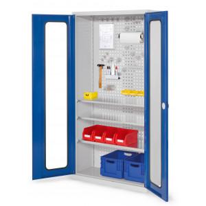 ®RasterPlan gereedschapkast met zichtvensters, model 6