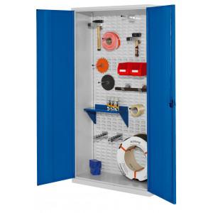 ®RasterPlan gereedschapkast met gladde staalplaatdeuren