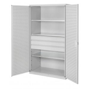®RasterPlan groot volume gereedschapkasten, 3 laden, 3 legborden