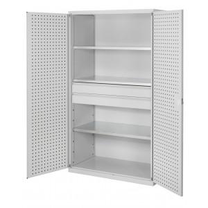 ®RasterPlan groot volume gereedschapkasten, 2 laden, 3 legborden