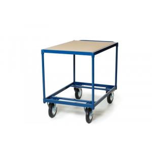 Tafelwagen met open en gesloten laadvlak