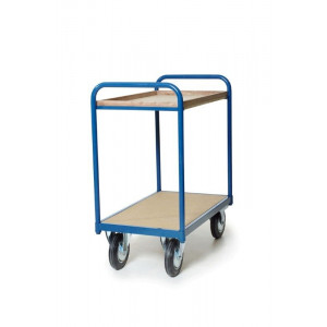 Tafelwagen 850x500 mm met 2 niveaus, 202.004