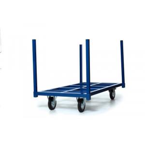 Rongenwagen voor lange producten