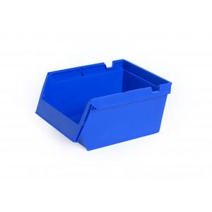 Nestbare stellingbak 300x230x150mm, kleur blauw