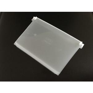 Recht tussenschot voor stellingbak, afmeting: 230x150mm, transparant