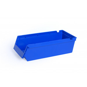 PPS Nestbare- en stapelbare stellingbak 500x230x150mm