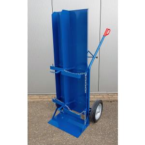 Flessenwagen voor 1x 40/50 liter fles en 1x 33kg of 11kg propaanfles