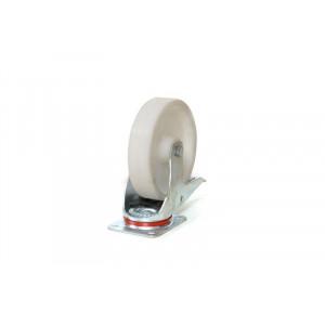 Meerprijs voor 2 zwenkwielen Ø125 mm met rem, KM 143-7