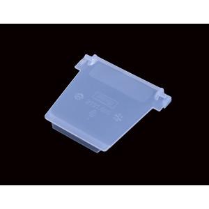 Recht tussenschot voor onderdelenbak, afmeting: 115x100mm, transparant