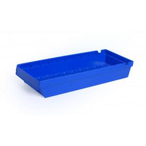 Nestbare onderdeelbak 600x230x100mm, kleur blauw