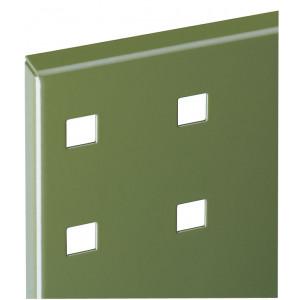 ®RasterPlan perfopaneel, kleur resedagroen RAL 6011