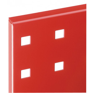 ®RasterPlan perfopaneel, kleur verkeersrood RAL 3020