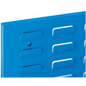 ®RasterPlan sleuvenpaneel, kleur lichtblauw RAL 5012