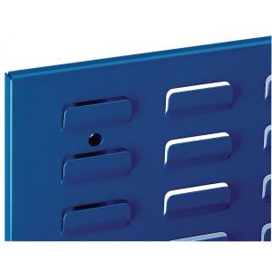 ®RasterPlan sleuvenpaneel, kleur gentiaanblauw RAL 5010