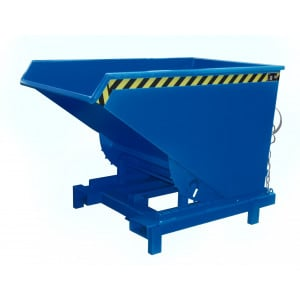 Heavy duty kiepcontainer, gelakt of verzinkt 1200 liter