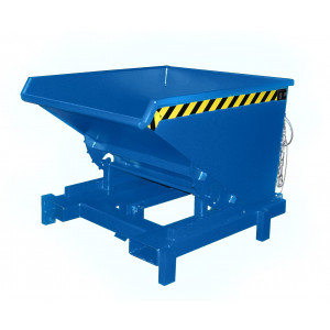 Heavy duty kiepcontainer, gelakt of verzinkt 600 liter