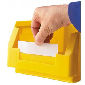 Etiket, transparant voor ®RasterPlan magazijnbak