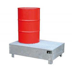 Vloeistofopvangbak type WM geschikt voor 2x 200 liter vaten