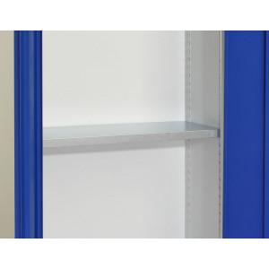Tretal legbord ten behoeve van draaideurkast, type CH, afmeting: 18x1200x420mm (HxBxD)