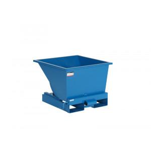 Kantelbak met automatisch kiepsysteem 150 liter RAL5019