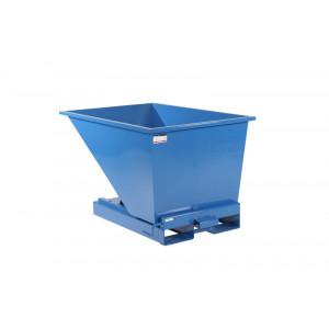Kantelbak met automatisch kiepsysteem 300 liter RAL5019