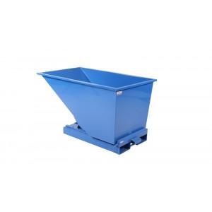 Kantelbak met automatisch kiepsysteem 600 liter RAL5019