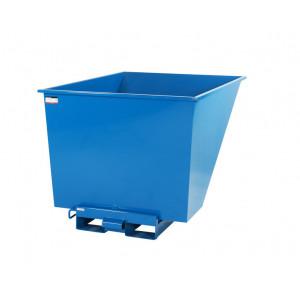 Kantelbak met automatisch kiepsysteem 1100 liter RAL5019