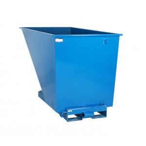Kantelbak met automatisch kiepsysteem 1600 liter RAL5019