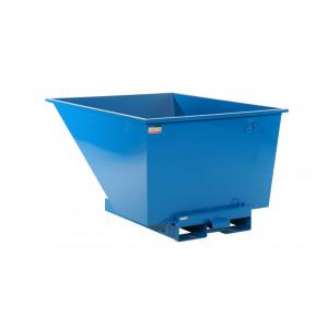 Kantelbak met automatisch kiepsysteem 900 liter RAL5019