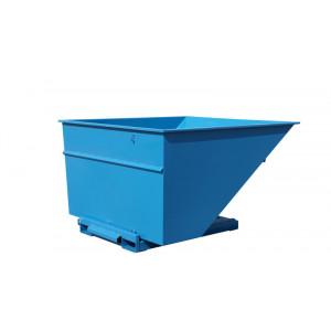 Kantelbak met automatisch kiepsysteem 3000 liter RAL5019