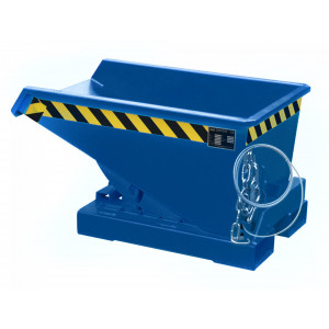 Kiepcontainer hoog model, gelakt of verzinkt, type MTF 150 liter