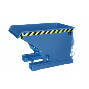 Kiepcontainer hoog model, gelakt of verzinkt, type MTF 300 liter