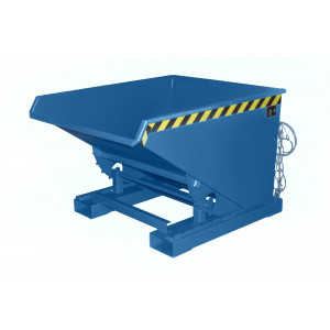 Kiepcontainer hoog model, gelakt of verzinkt, type MTF 600 liter