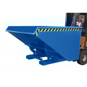 Kiepcontainer hoog model, gelakt of verzinkt, type MTF 1200 liter