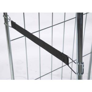 Snelbinder elastisch 550 mm voor rolcontainers, KM S1