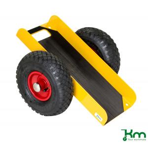 Platenwagen op luchtbandwielen, KM 142650