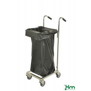 Afvalzakwagen elektrolytisch verzinkt