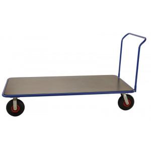 Duwwagen met groot platform