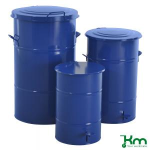 Afvalbakken blauw
