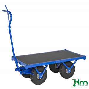 KM handtrekwagen 950x545mm (LxB), 650kg