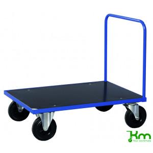 Duwwagen met MDF laadvloer