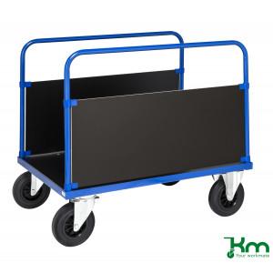 2-wandenwagen met houten laadvloer