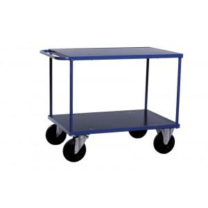 Tafelwagen met MDF laadvloer en laadvlak