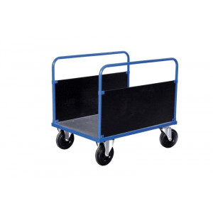 2-wandenwagen met staalverzinkte laadvloer