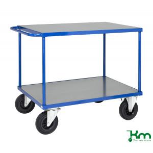 Tafelwagen met staalverzinkte laadvloer en laadvlak