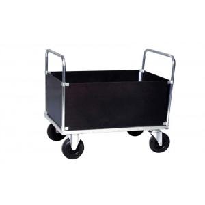 4-wandenwagen in staalverzinkte uitvoering